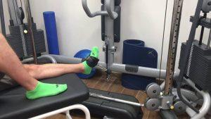 Tibial anterior y Flexión dorsal pie